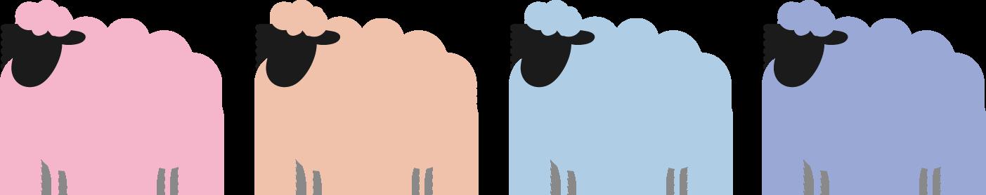 ひつじ 羊 イラスト 無料イラストフリー素材