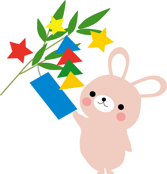 七夕のイラスト・無料イラスト ... : 七夕 短冊 ダウンロード : 七夕