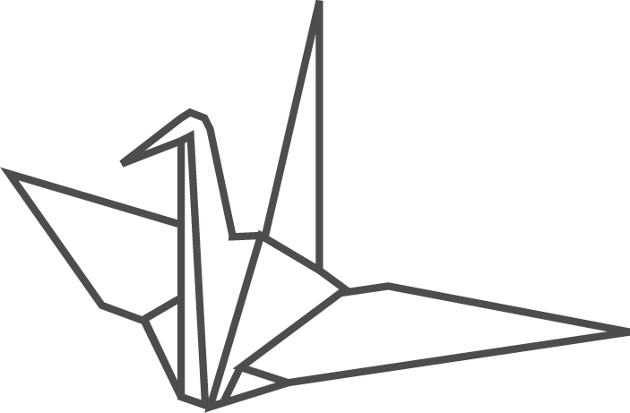 ハート 折り紙 折り紙 鶴 イラスト : wanpug.com