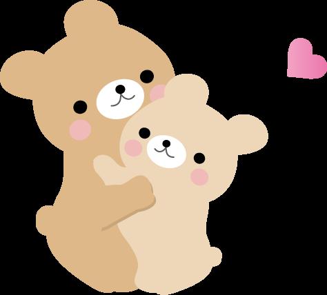かわいいイラスト(無料イラスト)フリー素材/くま : かわいいクマのイラスト画像 - NAVER まとめ