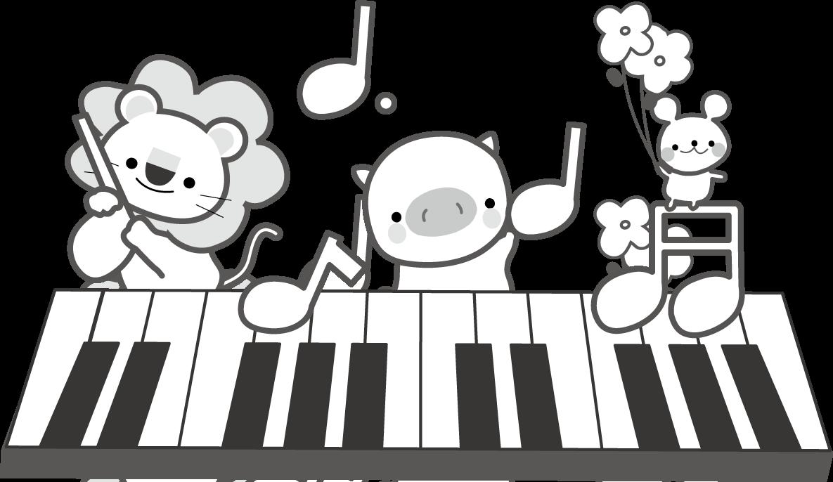 音符のイラスト/無料イラスト ... : 音楽プリント : プリント