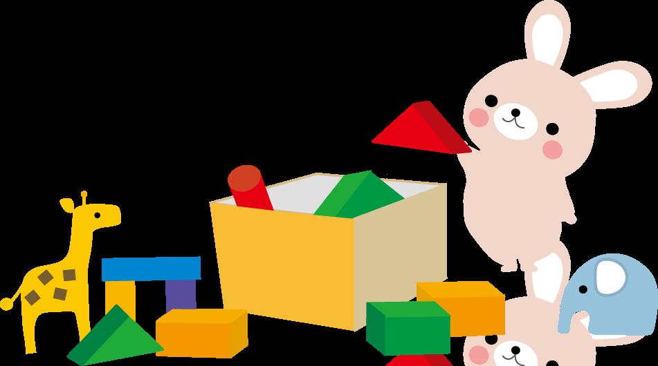 おもちゃで遊んだ後お片付け ... : プリント 幼児 : プリント