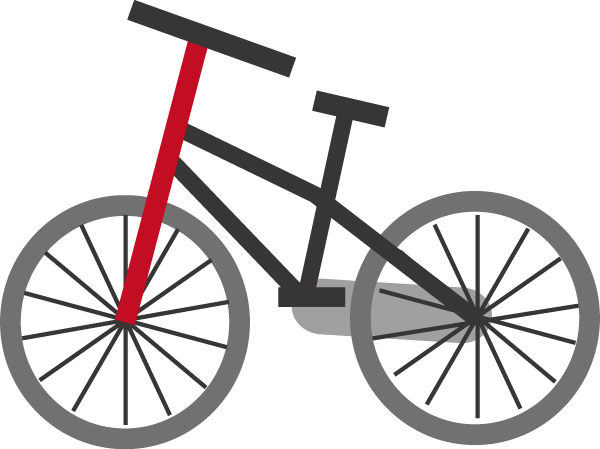 自転車のイラスト : 自転車の ... : 電車 ぬりえ : すべての講義