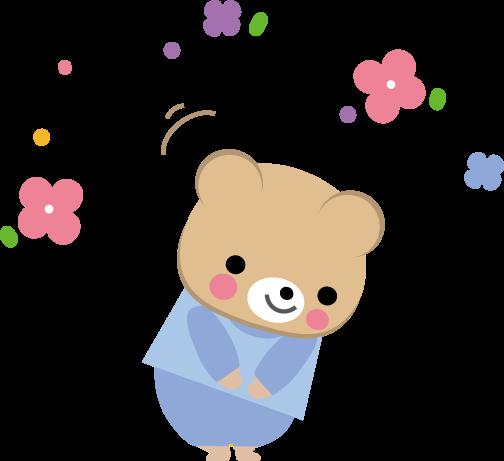カード お別れ メッセージカード : ありがとう・お礼(お辞儀)の ...