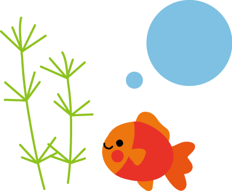 金魚のイラスト 無料イラスト フリー素材
