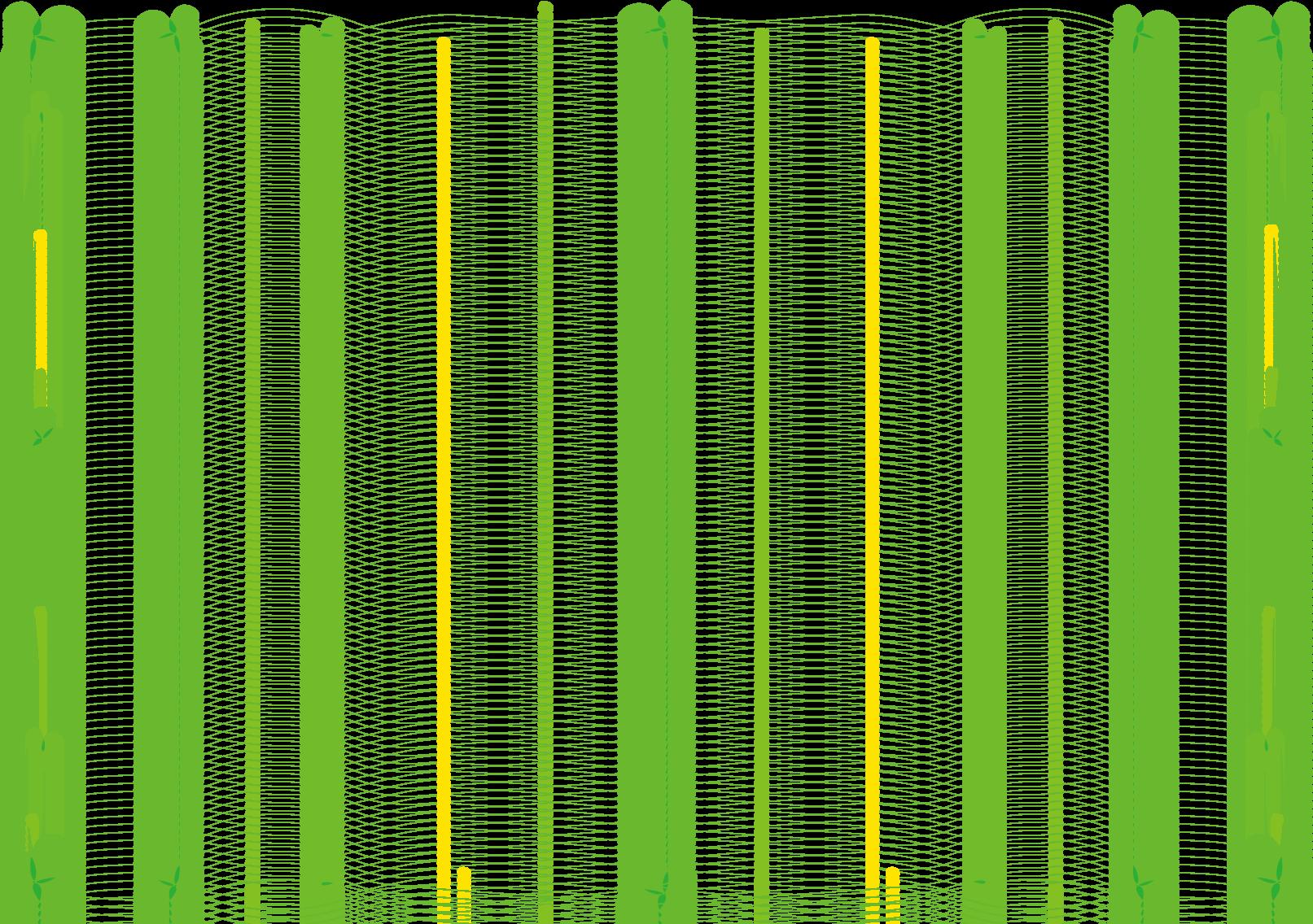 枠 飾り枠 飾り罫 飾り線 クローバーおしゃれなデザイン 無料イラスト素材