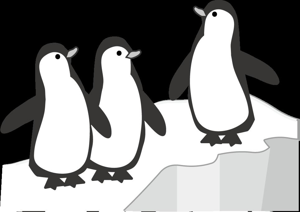かわいいペンギンのイラスト ... : 手紙 ダウンロード : すべての講義