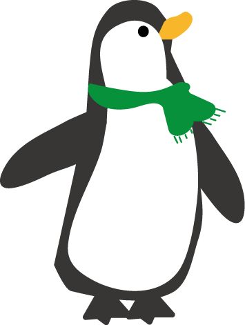 ペンギンのイラスト-無料 ...