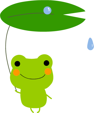 すべての講義 あじさいの絵 : カエル : 〔画像集〕カエルの ...