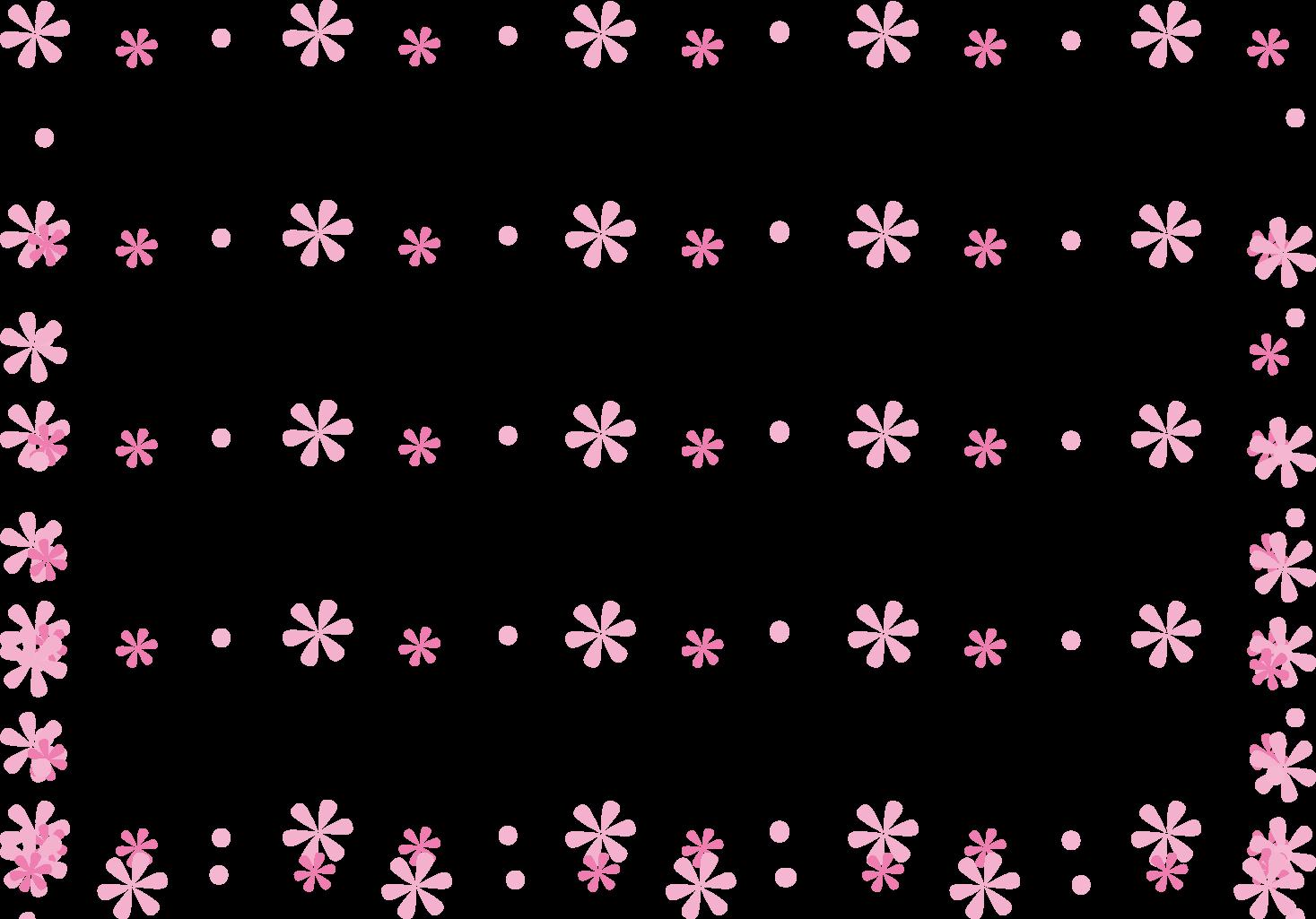 花の飾り枠 飾り罫 カード ... : 無地 便箋 : すべての講義