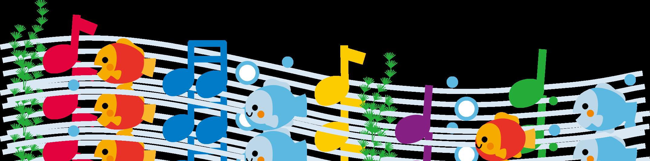 音符のイラスト/無料イラスト ... : 音符カード無料ダウンロード : カード