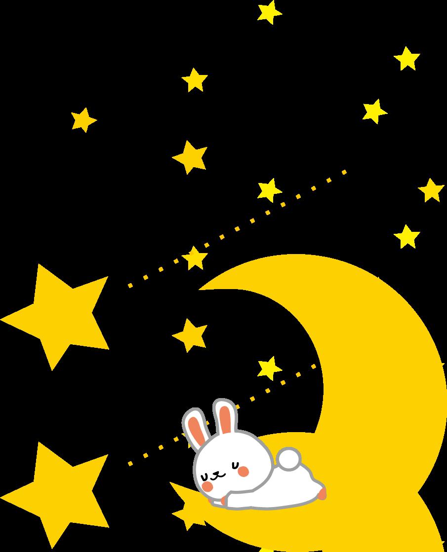 月のイラスト・無料イラスト