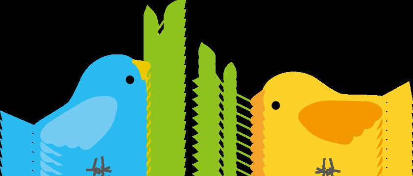 web用小鳥のイラストgifアニメ