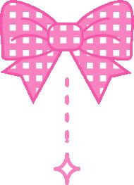 可愛いハートとリボンのイラスト 無料イラスト 姫系な素材
