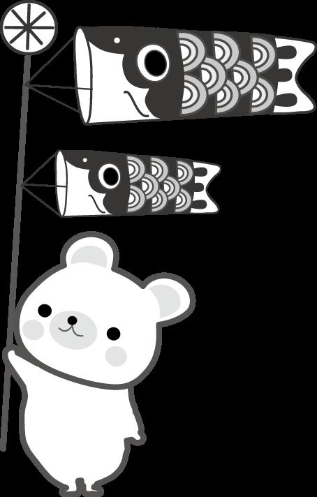 子供の日 こいのぼりのイラスト 無料イラスト