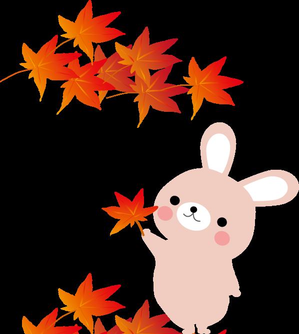 秋の紅葉 もみじのイラスト 無料イラスト フリー素材