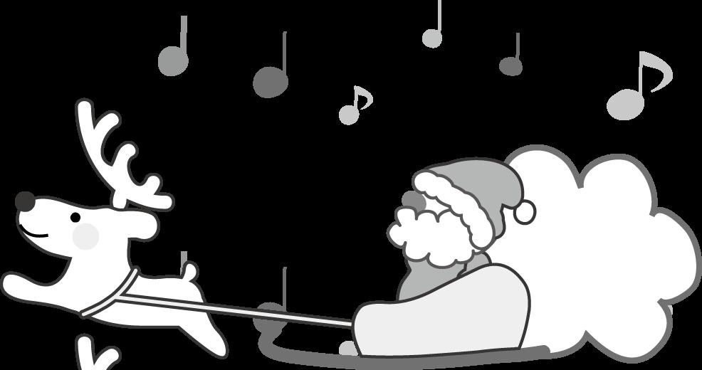 クリスマスのイラスト/無料 ... : サンタ メッセージカード : カード