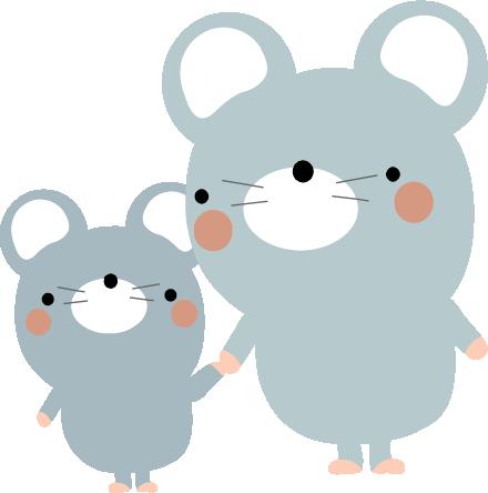 ネズミ フリー 素材